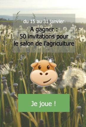 gagnez votre invitation pour le salon de l'agriculture avec la msa