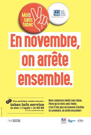 Rendez-vous avant le 30 octobre pour arrêter de fumer